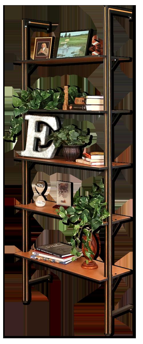 In-Home Solution. Custom Bookshelf