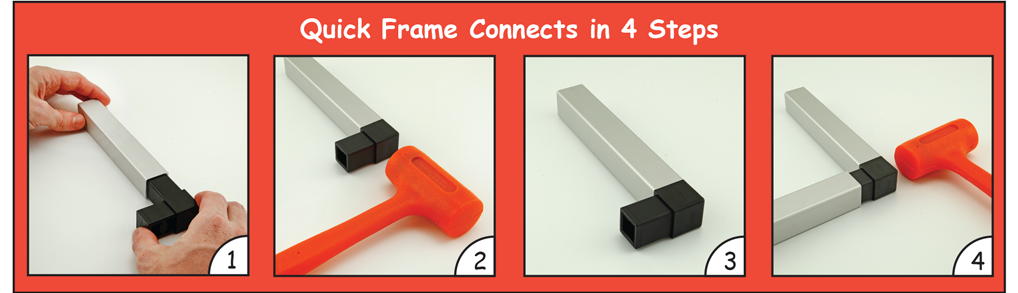 80/20 Inc. - Learn about Quick Frame Profiles